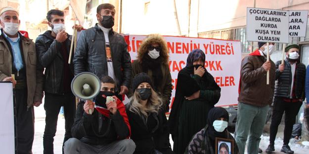 PKK'dan çocuklarını isteyen ailelere HDP'den 'seçim müziği' provokasyonu