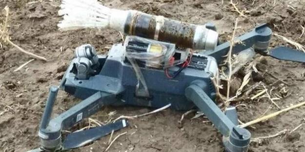 PKK'dan silahlı drone ele geçirildi
