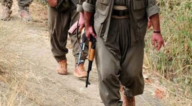 PKK'lı alçak teslim oldu