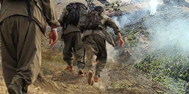 PKK'LI TERÖRİST GİZLİ CEPHANELİĞİ PATLATTI