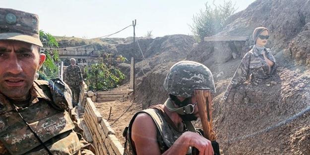 PKK'lılar etek giymişti! Ermeniler SİHA'ları şaşırtmak için bakın ne yaptı