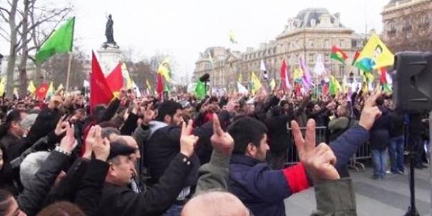 PKK'lılar Türkler'e saldırdı, polis sadece izledi