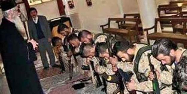 PKK'lılara özel Kürtçe ayin!