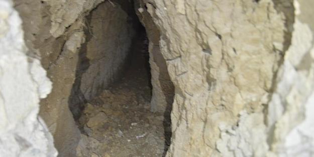 PKK'nın 8 tüneli ortaya çıkarıldı