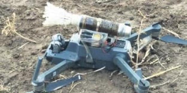 PKK'nın bombalı ''drone''u düşürüldü