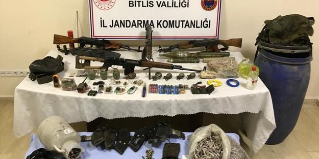 PKK'nın cephanesi ele geçirildi