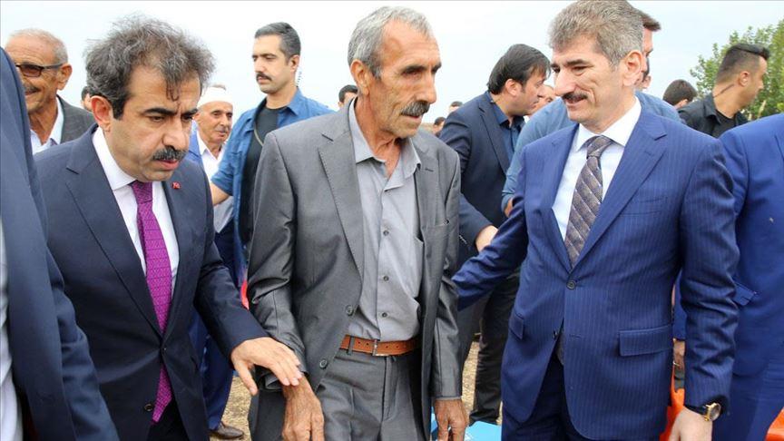 PKK'nın elinden kurtardığı oğlunu evlendirdi