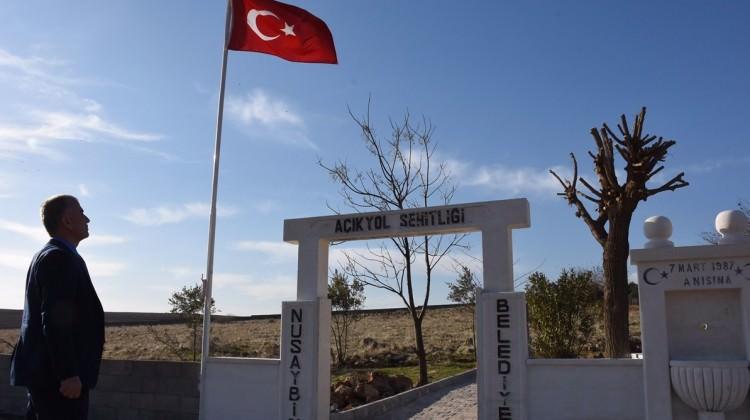 PKK'nın katlettiği siviller için şehitlik