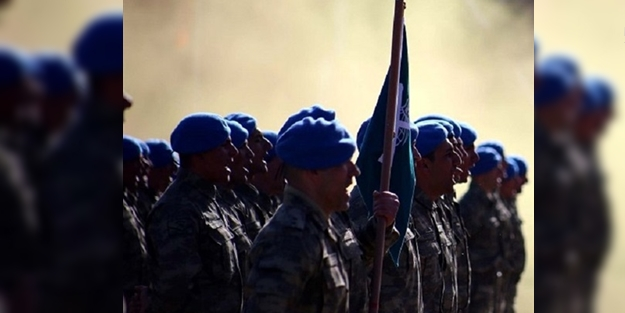 PKK'NIN KORKULU RÜYASI MAVİ BERELİLER SURİYE SINIRINDA