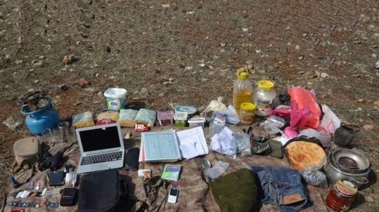 PKK'ya düzenlenen operasyonda randevu defteri bulundu
