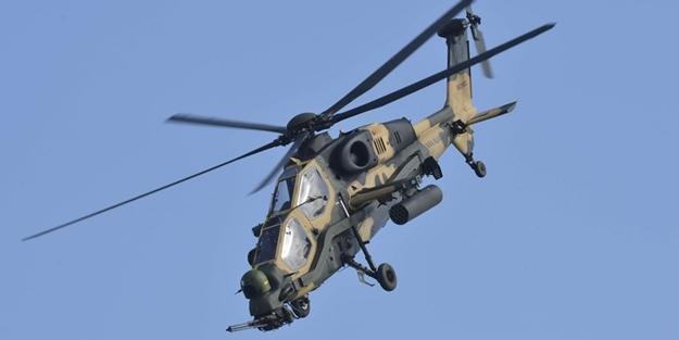 PKK'ya ait hedefler, ATAK tarafından vuruldu