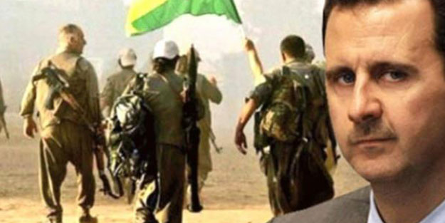 PKK/YPG Esed'in polis olacak