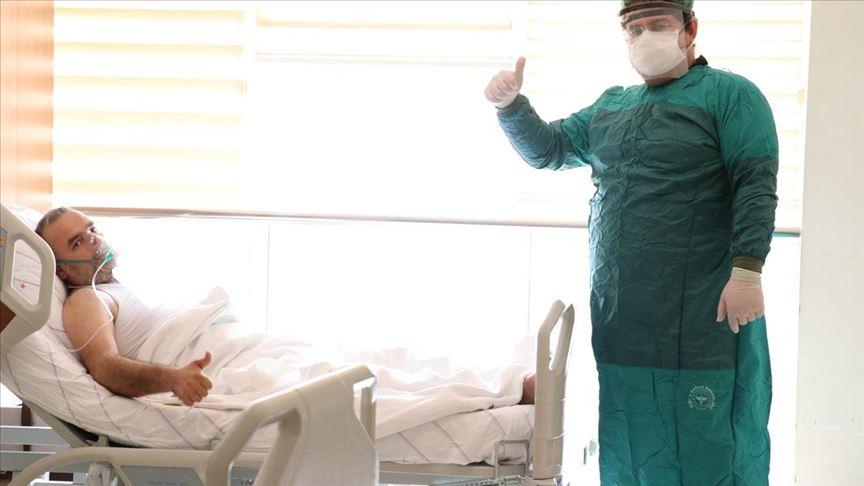 Plazma tedavisi uygulanan Kovid-19 hastasında sevindirici gelişme