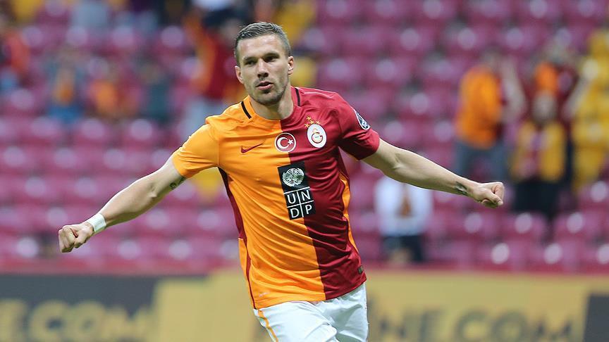 Podolski: Hedefim Şampiyonlar Ligi'nde mücadele etmek