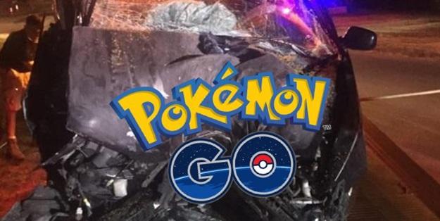 Pokemon GO yüzünden canından oluyordu!