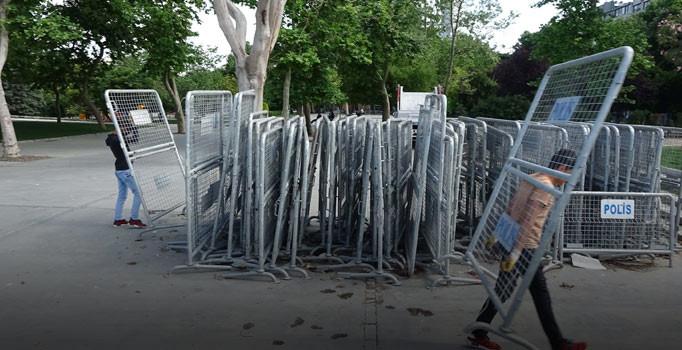 Polis Gezi Parkı için harekete geçti!