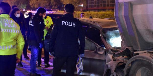 Polis memuru feci kazada yaşamını yitirdi