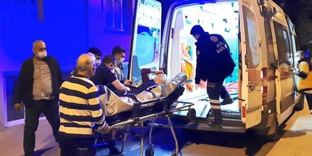 Polisler yaşlı kadını camı kırıp kurtardı