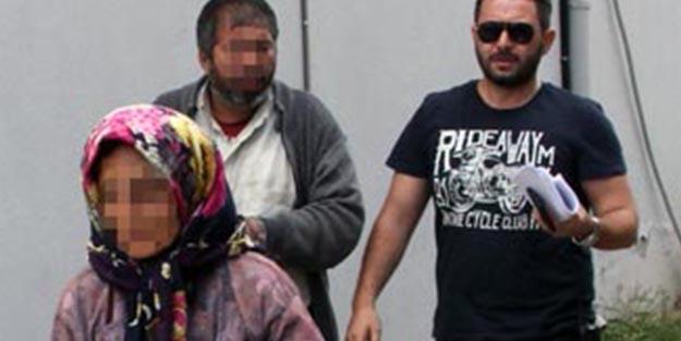 Polislerin düzenlediği operasyonda yakalanan kadın yaşından da utanmadı!