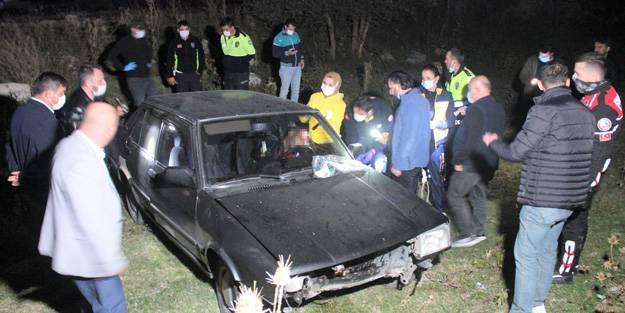 Polisten kaçan sürücü başından vurulmuş halde bulundu