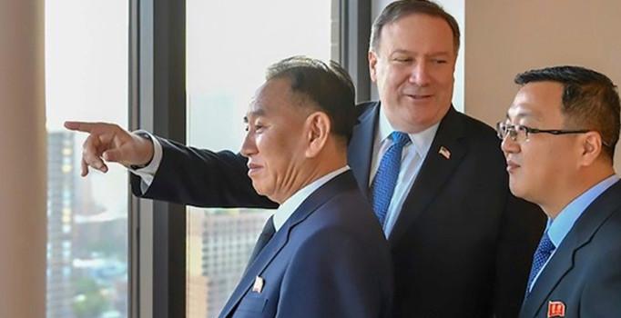 Pompeo Kim'in sağ koluyla görüştü