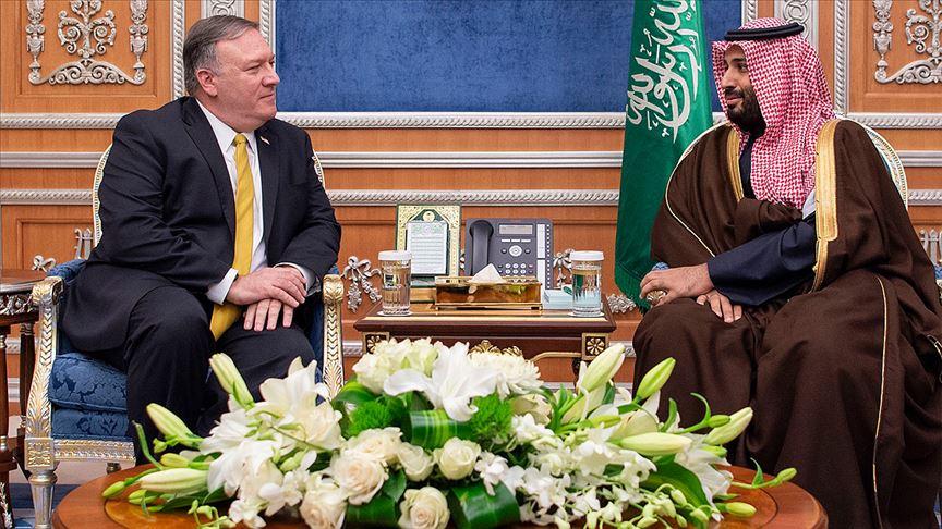 Pompeo Suudi Veliaht Prens ile İran'ı hakkında görüştü