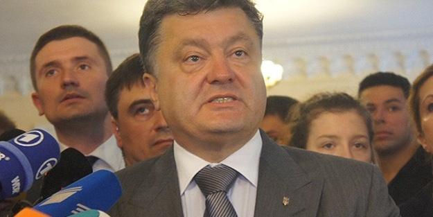 Poroşenko'dan Rusya'ya gözdağı!