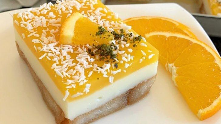 Portakallı etimek tatlısı tarifi nasıl yapılır? Portakallı etimek tatlısı malzemeleri