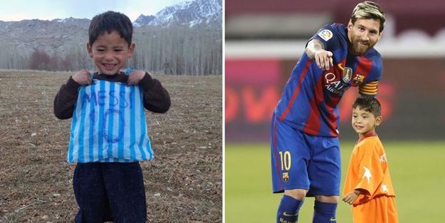 Poşetten Messi forması giyen Afganistanlı Murtaza'nın hikayesi