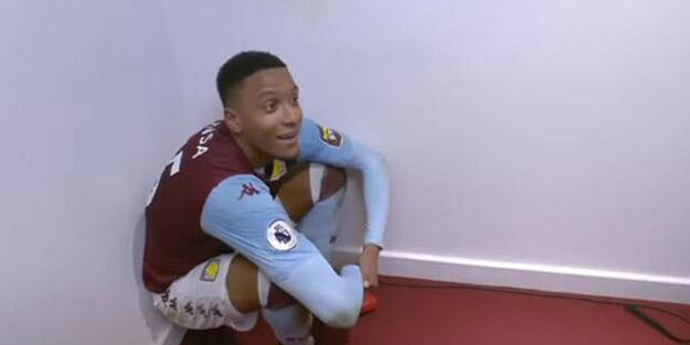 Premier Lig'de enteresan olay! O oyuncu maç sonu röportajında şoku yaşadı