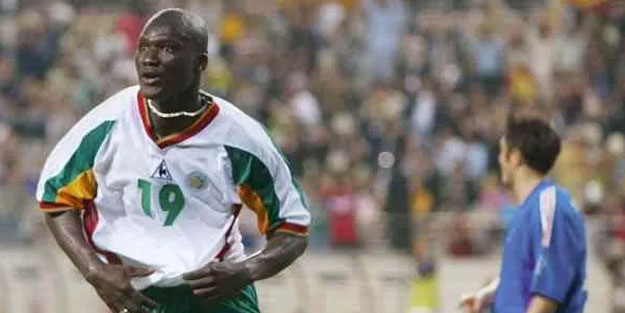 Premier Lig'e damga vuran Diop öldü