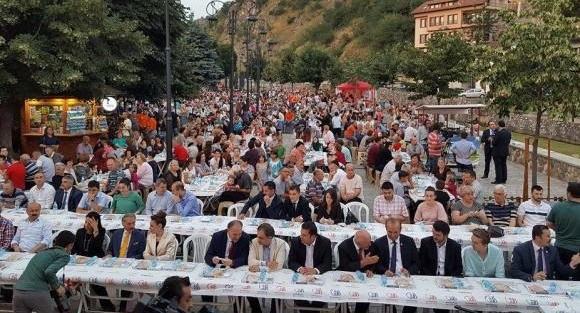 Prizrenliler, Bayrampaşa'da buluştu