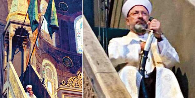Prof. Dr. Ali Erbaş'ın kılıçla hutbeye çıkmasını tarihçiler böyle ...