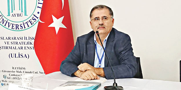 Prof. Dr. Mustafa Eravci: Maksat İsrail'in önünü açmak İran bahane