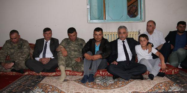Protokol, PKK'nın katlettiği şoförün ailesinin evinde!
