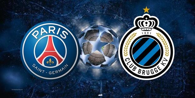 PSG Club Brugge maçı ne zaman saat kaçta hangi kanalda?