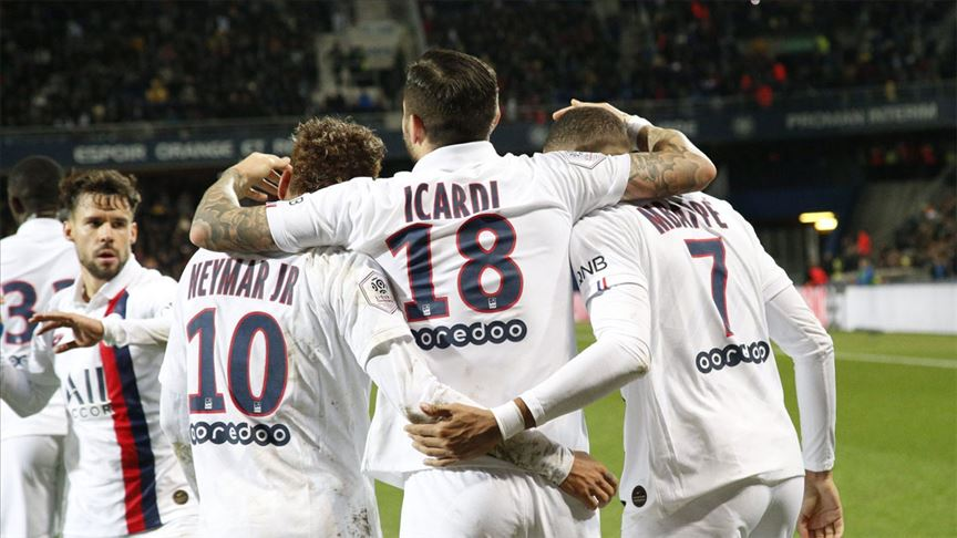 PSG deplasmanda Montpellier'i 3-1 mağlup etti