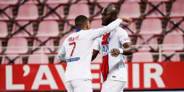 PSG'den Dijon'a gol yağmuru