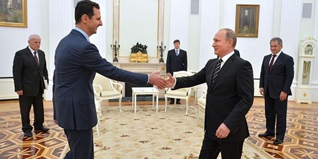 Putin, Esed'le görüştü