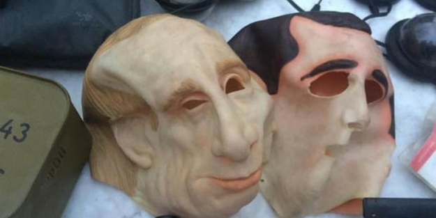 Putin maskesiyle Türkleri gasp ettiler!
