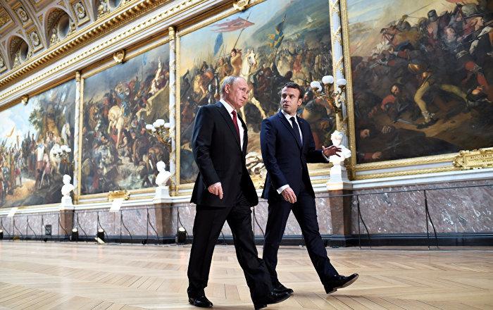 Putin ve Macron'dan 'Ankara Zirvesi' görüşmesi