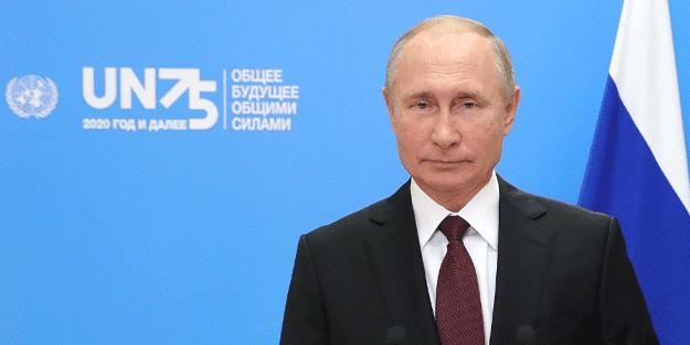 Putin'den BM'ye korona aşısı teklifi