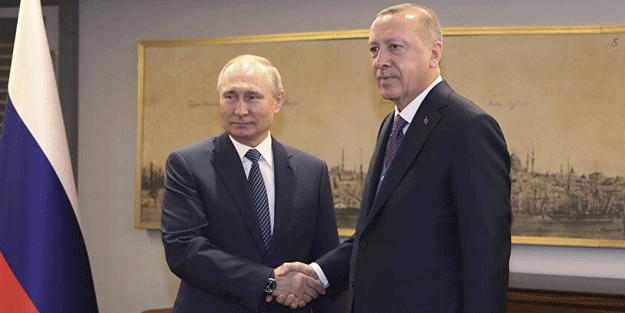Putin'den Erdoğan'a İzmir mesajı