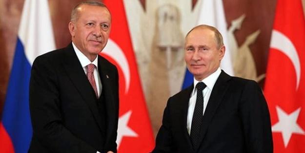 Putin'den Erdoğan'a tebrik telgrafı