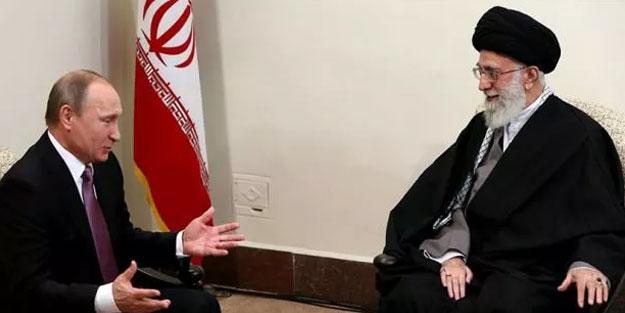 Putin'den İran lideri Hamaney'e mesaj