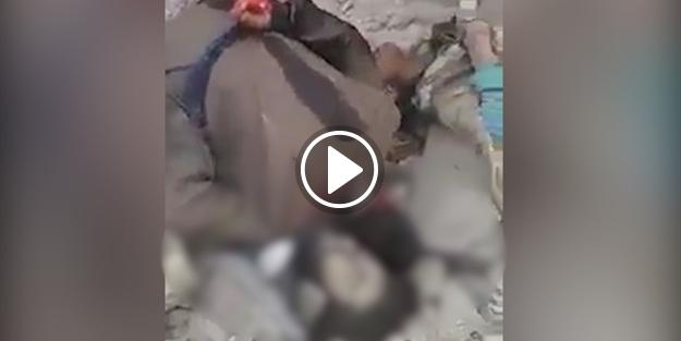PYD'li teröristlerden kan donduran sivil katliamı!