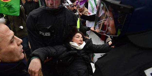 PYD/PKK yandaşları Berlin'i karıştırdı