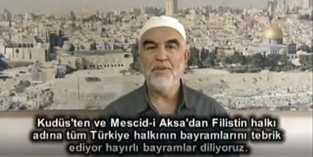 Salah''tan Kudüs ve Mescid-i Aksa vurgusu geldi