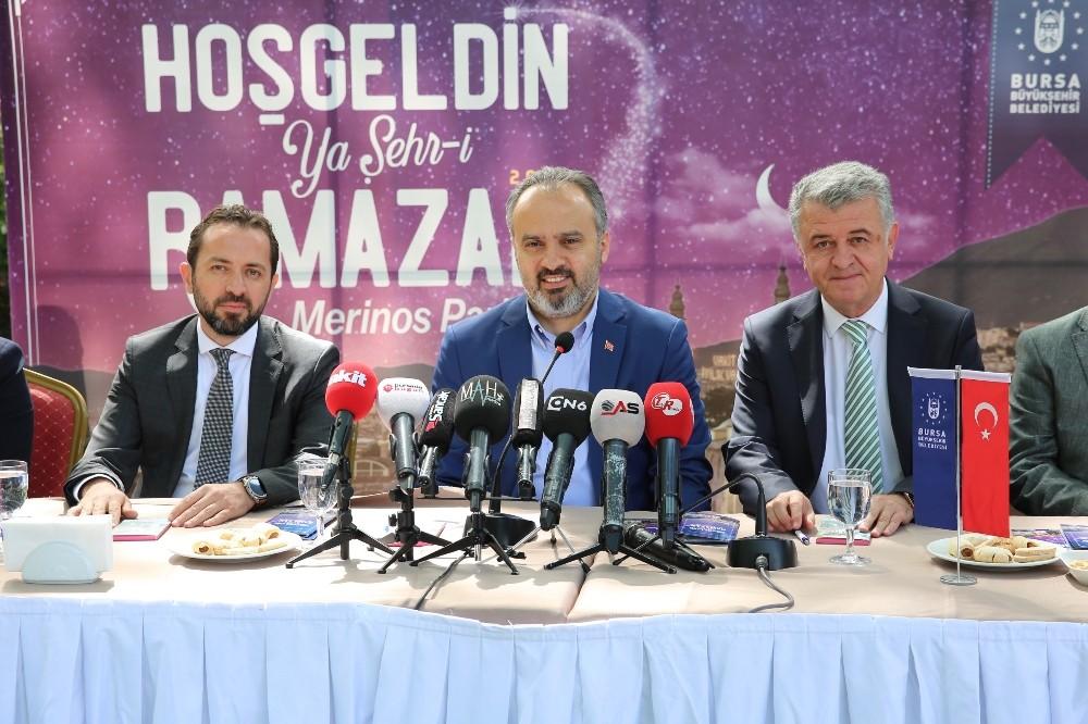 Ramazan iklimi Bursa'yı sarıyor