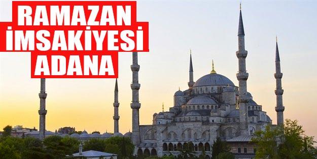 Ramazan imsakiye 2019 Adana